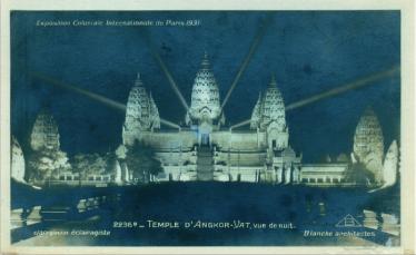 Angkor à l'exposition coloniale de 1931