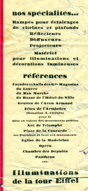 Brochure commerciale des Etablissements Jacopozzi 2