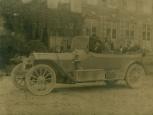 Fernand Jacopozzi en voiture
