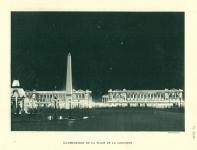 Illumination de la place de la Concorde par Fernando Jacopozzi