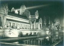Temple d'Angkor à l'exposition coloniale de 1931 (1)